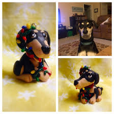 custom handmade labrador lab doberman dobie dog christmas