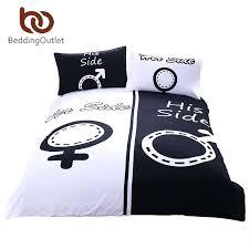 his and hers bed set couples duvet covers de arrest me