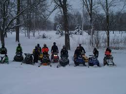 Snowmobile Trail Maps Michigan by Michigan Snowtracks