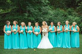 teal wedding dresses 20 fabulous bridesmaids dresses link