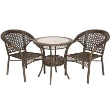 Wicker Bistro Table And Chairs 16 Best Backyard Design Images On Pinterest Bistro Set Diner