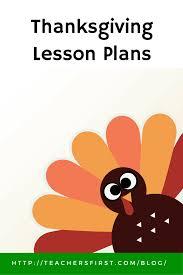 thanksgiving lesson plans teachersfirst