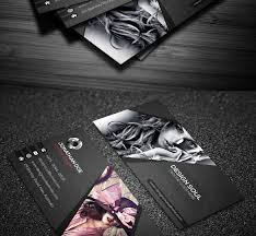 photographer business cards psd free download photography card