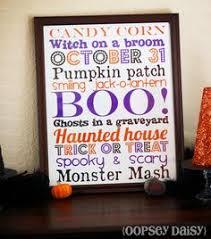 halloween subway sign craft ideas pinterest halloween signs