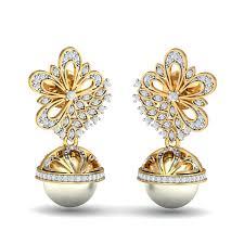jhumka earrings online shopping buy gold jhumka earrings online jhumka jhumki earring designs