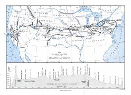 Canadian Pacific Railway Map Union Pacific U2014 The Railroad Established By Abraham Lincoln To
