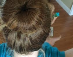 large hair bun holders makers etsy