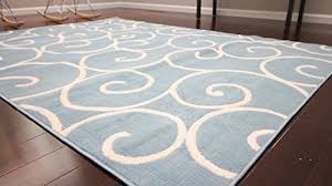 Modern White Rug Blue Gray Area Rug 50 Photos Home Improvement In Light