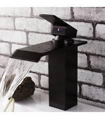 Waterfall Bath Faucets Oil Rubbed Bronze Waterfall Bathroom Faucet 8071q Wholesale Faucet