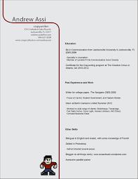 Copywriter Resume Sample by Resume Portfolio Download Andrew A Assi A Copywriter