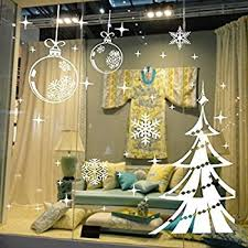 Christmas Ball Window Decorations by Christmas Decorations Hanging Balls Shinning Stars Snowflakes And