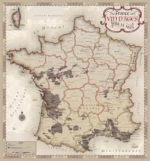 Wine Map Of France by Vinmaps Discover The Source