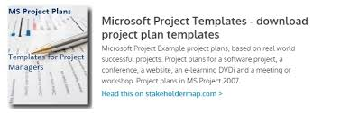 microsoft project templates download project plan templates