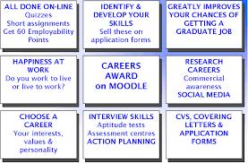 moodle careers employability award