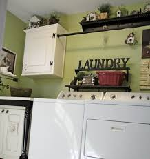 Laundry Room Wall Decor Ideas Laundry Room Wall Decor With Custom Decorative Shelf Decolover Net