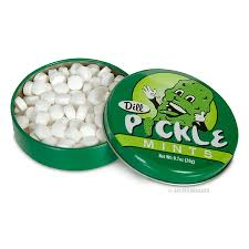 pickle candy dill pickle mints at joe s candy shop