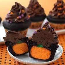 ultimate cheesecake stuffed halloween cupcakes hungry happenings