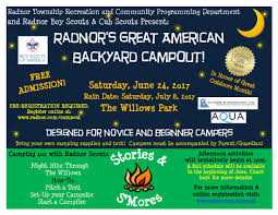 great american backyard campout radnor pa official website