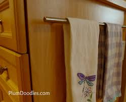 Medium Image For Gorgeous Towel Rack Ideas  Kitchen Towel Bar - Kitchen cabinet towel rack