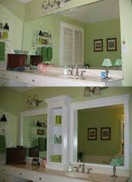 framing bathroom mirrors a great tutorial with step by step