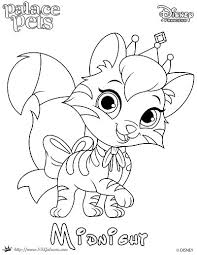 free printable princess palace pet coloring midnight