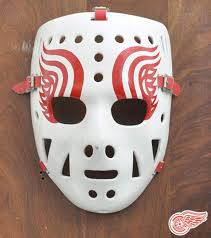 hockey u0027s goalie mask saved face and grew into work of art