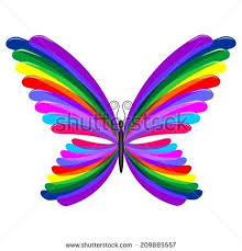neon butterfly stock images royalty free images vectors