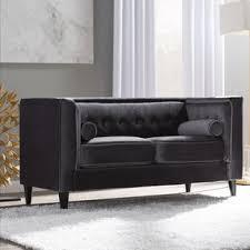 Chesterfield Velvet Sofa Velvet Sofas You Ll Wayfair