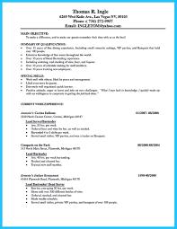 Sample Bartender Resume Skills by Bartender Resume No Experience Template Http Www Resumecareer