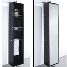 rotating storage cabinet with mirror barcelona rotating storage cabinet espresso free shipping