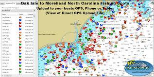 Nc Maps North Carolina Fishing Maps For Gps