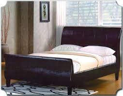 platform sleigh bed home design ideas