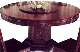 Oriental Dining Table by Oriental Dining Table With Lazy Susan 54