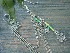 ear cuffs ireland mermaid abalone starfish ear cuff with chains by gildedingypsy