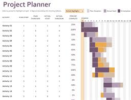 Excel Gantt Chart Template 2013 Gantt Project Planner Office Templates