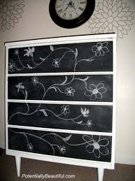 black and white painting ideas blackboard paint diy modern furniture decoration in black and white