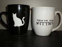 show me your kitties coffee cup mug crazy cat lady gift animal
