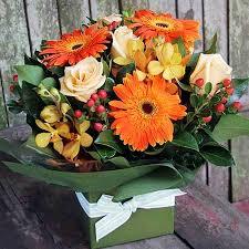 autumn flowers autumn in a box
