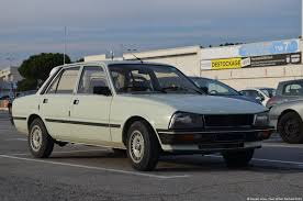 peugeot 505 coupe peugeot 505 2 ran when parked