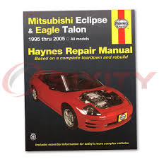 mitsubishi eclipse haynes repair manual gst gt gsx rs spyder gts