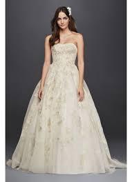 oleg cassini wedding dress oleg cassini organza veiled lace wedding dress david s bridal