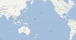 Australia On A World Map by Marshall Islands Map