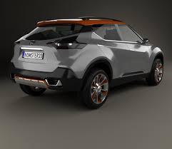 nissan kicks 2015 nissan kicks concept 2014 3d model hum3d
