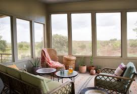 steal this look a bohemian screened porch in texas gardenista