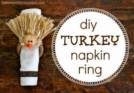 turkey napkin ring kids craft thanksgiving turkey napkin rings lesson plans