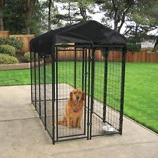 wire cage l shade 8x4x6ft welded wire dog kennel outdoor rainproof cover protection