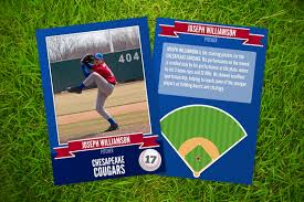 i just released ace a baseball card template on creative market