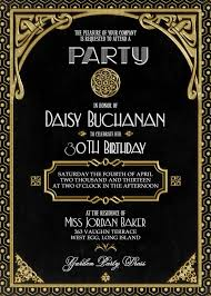 gatsby invitations gatsby party invitation marialonghi