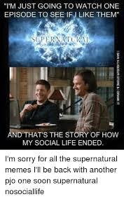 Supernatural Meme - 25 best memes about supernatural meme supernatural memes
