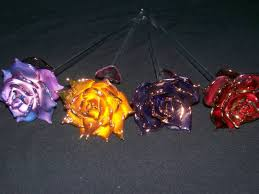 glass roses blown glass roses blown glass sculptures by eyecliptic